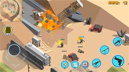 俯视上帝视角让玩家更容易发现敌人踪影,轻松秀出极限操作.图片