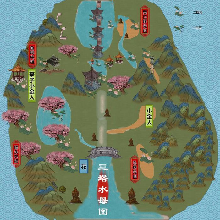 光遇雨林攻略平面图 雨林全收集品位置图大全